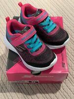 Skechers Go Run 600 Dazzle Strides (82050N/BKMT) - Girls Size 6 - Brand New -NIB
