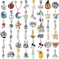 European Silver Charm Beads Pendant FOR DIY 925 charms Bracelet Bangle Chains