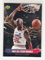 MICHAEL JORDAN 1992-93 Upper Deck All Star Heroes #15 Chicago Bulls Mint