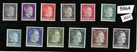 #5964    MH stamp set / Adolph Hitler / WWII Germany / Third Reich Ostland