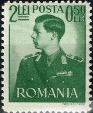 Romania WW2 King Michael in military uniform stamp 1941 MNH