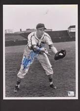 Marty Marion signed 8X10 w/COA certificate from GAI