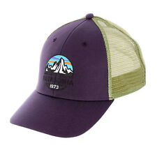 de8bb8071fa4b Patagonia Men s Fitz Roy Scope LoPro Trucker Hat - Purple