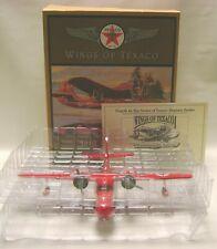 1996 ERTL Wings Of Texaco 1940 GRUMMAN GOOSE plane diecast coin bank MIB mp