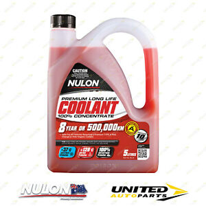 NULON Red Long Life Concentrated Coolant 5L for RENAULT Fluence 2.0L 6-Sp CVT