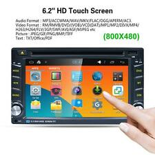 "6.2"" 2DIN Quad Core Android5.1.1 GPS Reproductor de DVD estéreo de coche 3G WIFI"