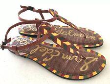 Sam Edelman GIGI 5 Leather Sandals Size 8