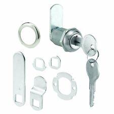 Replacement Desk Drawer Lock Keys Steel Part Cabinet Door Tool Box Panel Met...