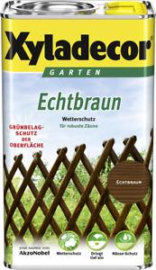Xyladecor Echtbraun Wetterschutz 5 L (Verbeult)