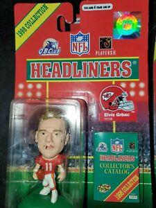1998 NFL Headliners Collections Elvis Garbac Kansas City Chiefs