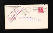 Mortimer McRoberts Docketed Sleigh Bells Chicago 1893 McConnell Burlington IA s