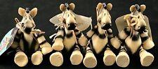 4 Encore Presents Noah's Ark Kk Zebra Sitting Figurine by Kathleen Kelly 2003