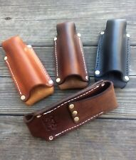 Leather Flashlight Holster Terralux, Streamlight, Maglite Mini AA Battery