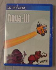Nova-111 Sony PS Vita New Limited Run Games LR-V21 Factory Sealed