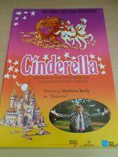More details for matthew kelly cinderella swindon pantomime  program 1991