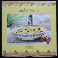 PORTMEIRION POMONA ALFRESCO LARGE PASTA SERVING BOWL