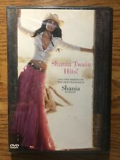 Shania Twain Hits! And The Making Of New Fragrance DVD New Sealed OOP 2005