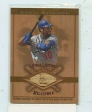 New listing Gary Sheffield 2001 Upper Deck SP Game Used Bat Milestone Relic M-GS DODGERS