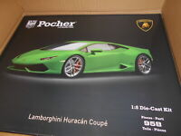POCHK109 by POCHER LAMBORGHINI HURACAN COUPE LP610-4 GREEN 1.8
