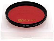 72mm. filtro Rosso 090 5x B+W by Schneider. *NUOVO*