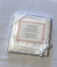 Nib-Ganz Wedding Keepsake Bridesmaid Handkerchief 13x13in