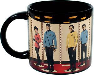 Mug/Ceramic Cup ~ Tea/Coffee/Beverage ~ STAR TREK ~ Transporter (Heat Mug)