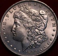 Uncirculated 1890 Philadelphia Mint Silver Morgan Dollar