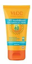 VLCC Natural Science 3D Youth Boost SPF 40 Sunscreen Gel Crème Paraben Free 50gm