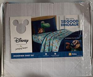 Disney Good Dinosaur Full Sheet Set Reversible Pillow Case Great Birthday Gift