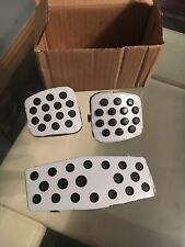 VAUXHALL ASTRA zafira GENUINE ALLOY PEDAL COVERS SET SRI SXI VXR may fit others