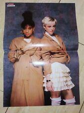 Pepsi & Shirlie Poster Eurythmics Songtext