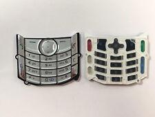 ORIGINAL Nokia 6681 Keypad Tastaturmatte Tastatur Silber