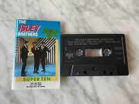 The Isley Brothers Super Ten CASSETTE Tape MADE IN HOLLAND 2190732 RARE! OOP!