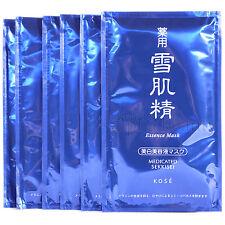 Kose Japan Medicated SEKKISEI Essence Face Mask (6 sheet) with whitening essence