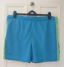 Nike Blue/Green Swim Shorts Trunks Size M