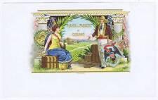 La Hoja - Planta de Tabacos cubano inner cigar box label