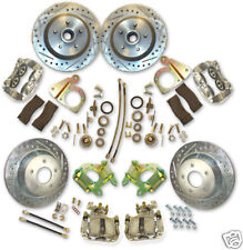 """1964-73 Mustang Complete Big Brake System 13"""" Rotors with EHPM"""