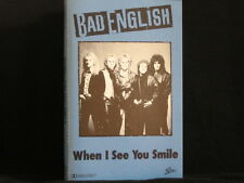 Bad English. When I See You Smile. Cassette tape Single. 1989. Australia Made