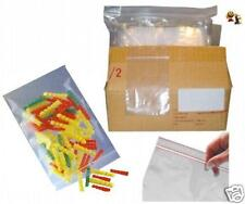 lot de 100 Emballages Pochette Pochon Sachet plastique transparent Zip bag 40x60