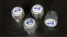 Genuine Volvo Valve Stem Caps Set Fits All Standard Air Valves 4 pieces NEW OEM