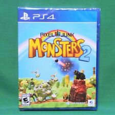 PixelJunk Monsters 2 Complete Deluxe Edition PlayStation 4 PS4 Limited Run #150