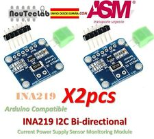2pcs INA219 I2C Bi-directional Current Power Supply Sensor Module