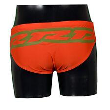 RRD - Costume da bagno KLAUS PRINT - 7203 - Colore Arancio - Taglia 32