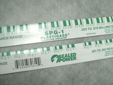 """Green PLASTIGAGE (.001-.003"""") (.025-.076mm) - Pack of 2 - Ships Fast!"""