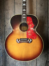 1966 GIBSON J200 CUSTOM ACOUSTIC GUITAR SUNBURST FINISH WITH HARDSHELL CASE