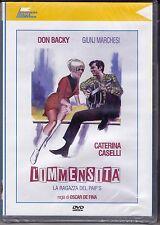 Dvd «L'IMMENSITÀ ♦ LA RAGAZZA DEL PAIP'S» con Don Backy Caterina Caselli 1967