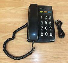 Genuine Vintage Radio Shack (43-830) Corded Big Button Home Telephone **READ**