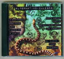 Alternativo - Culebra El Nuevo Rock Mexicano 1996 NEW CD