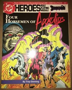 "Mayfair Games ""DC HEROES"" RPG Mod #211 Darkseid Four Horsemen of the Apokolips"