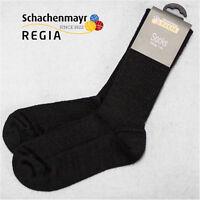"3 Paar Regia Gr. 36/37 4-fach "" Schwarze Fertigsocken "" Farbe 2066 Schachenmayr"